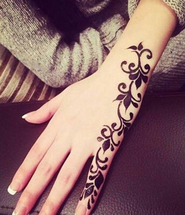 Simple Henna Finger Henna Designs Henna Tattoo Designs Henna