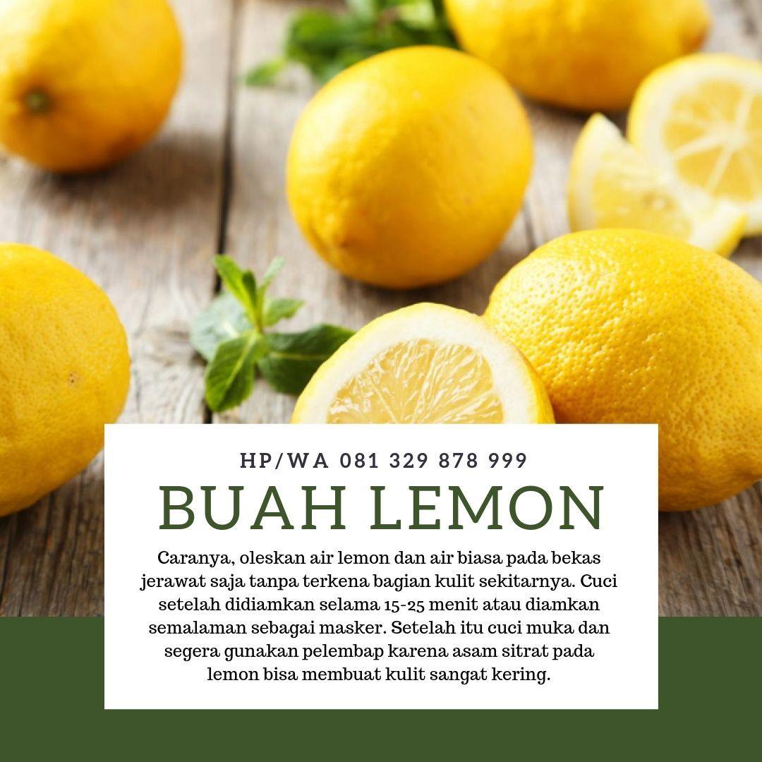 Cara Menggunakan Lemon Untuk Menghilangkan Bekas Jerawat