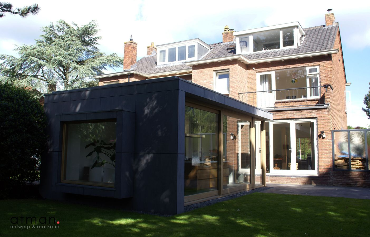 Uitbreiding Aan Huis : Na een intensieve renovatie en uitbreiding is een jaren huis
