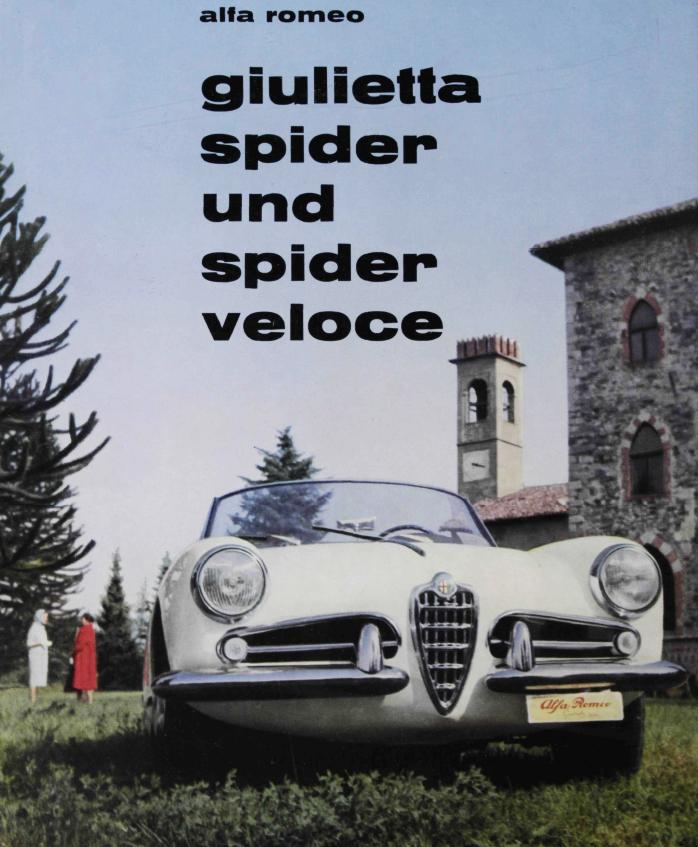Alfa Romeo Giuletta Spider & Spider Veloce 1960