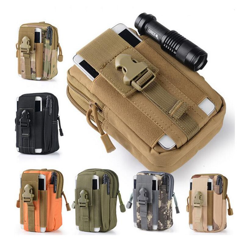 Tactical Molle Military Waist Pack Outdoor Camping Hiking Wallet Belt Bag Pouch