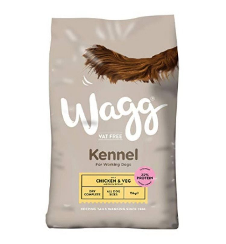 Wagg Chicken And Veg Kennel Complete Dog Food 15 Kg Chicken Uk