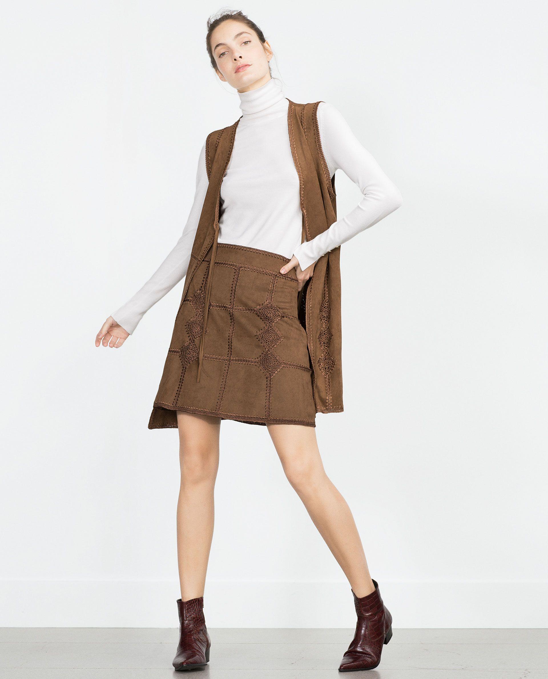 Zara AVANCE colección Primavera Verano 2015 mujer