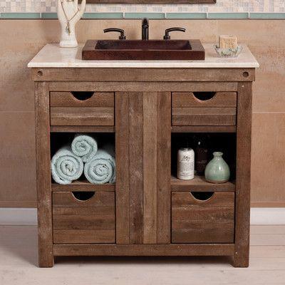 Native Trails Vintner 36 Single Bathroom Vanity Base Wayfair