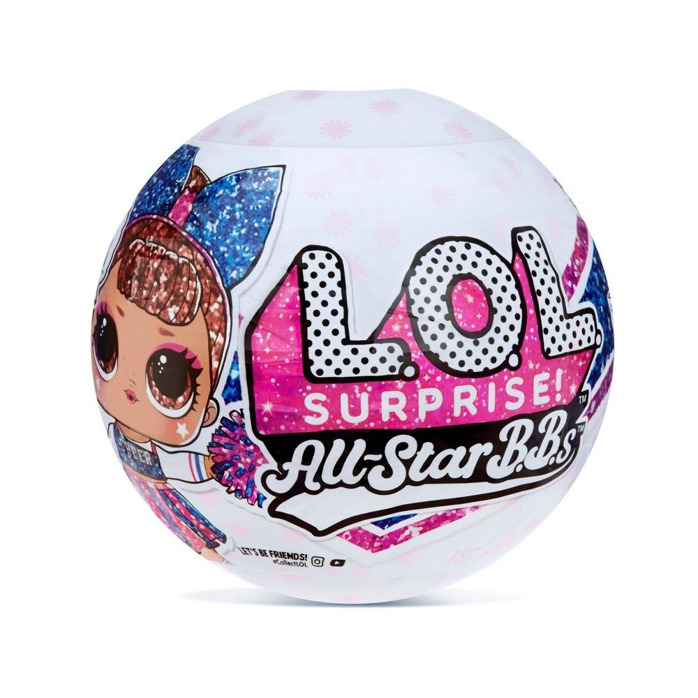 L O L Surprise All Star Bbs Sports Series 2 Cheer Team Sparkly Dolls With 8 Surprises In 2021 Cheer Team Lol Dolls Collectible Trading Cards