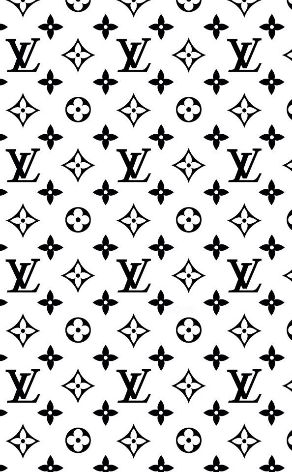 Black n white Louis Vuitton paper (With images) Louis