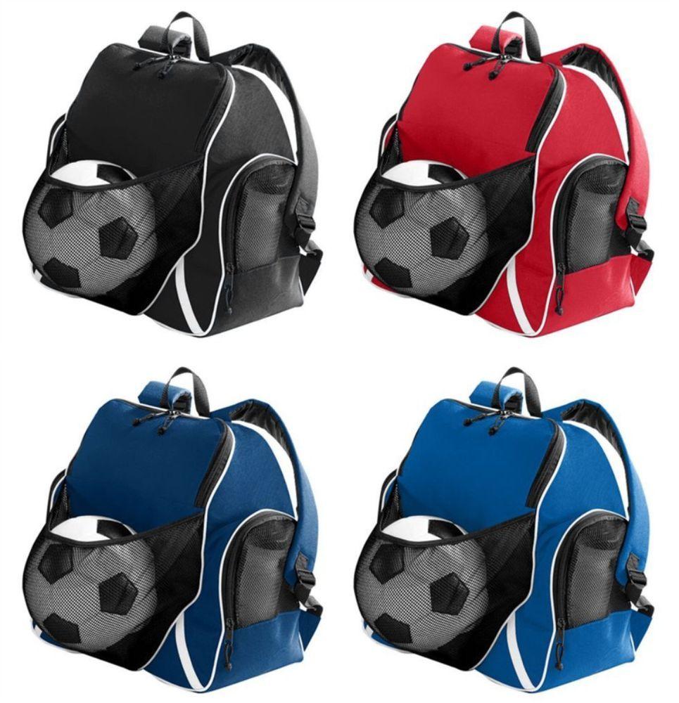 Personalized Soccer Equipment Backpack Bag 4 Tri Colors Football Equipment Bags Personalized Soccer Soccer Equipment