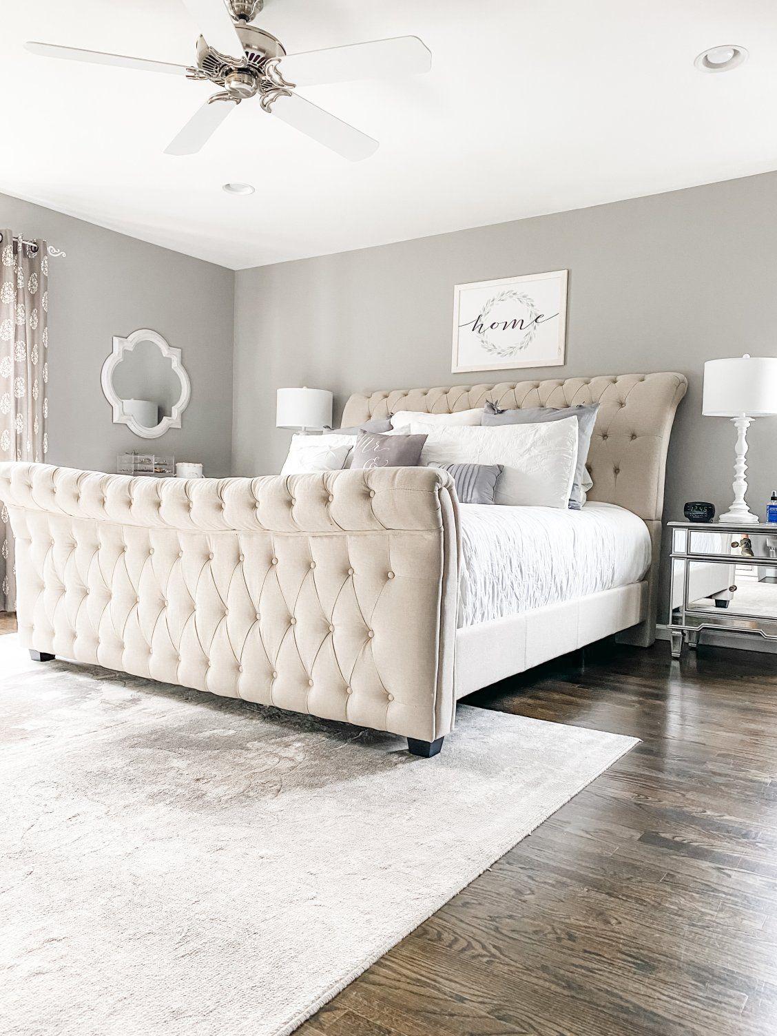Odette King Bed In 2020 Upholstered Bed Master Bedroom Master Bedroom Furniture Bedroom Refresh