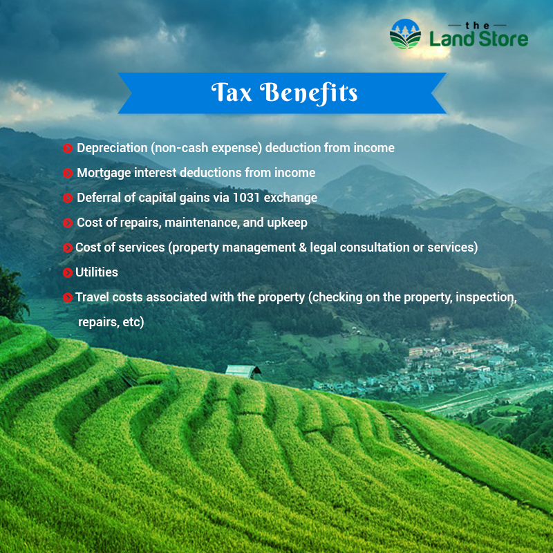 Enjoy The Tax Benefits Of Buying Real Estate It Is Secured And