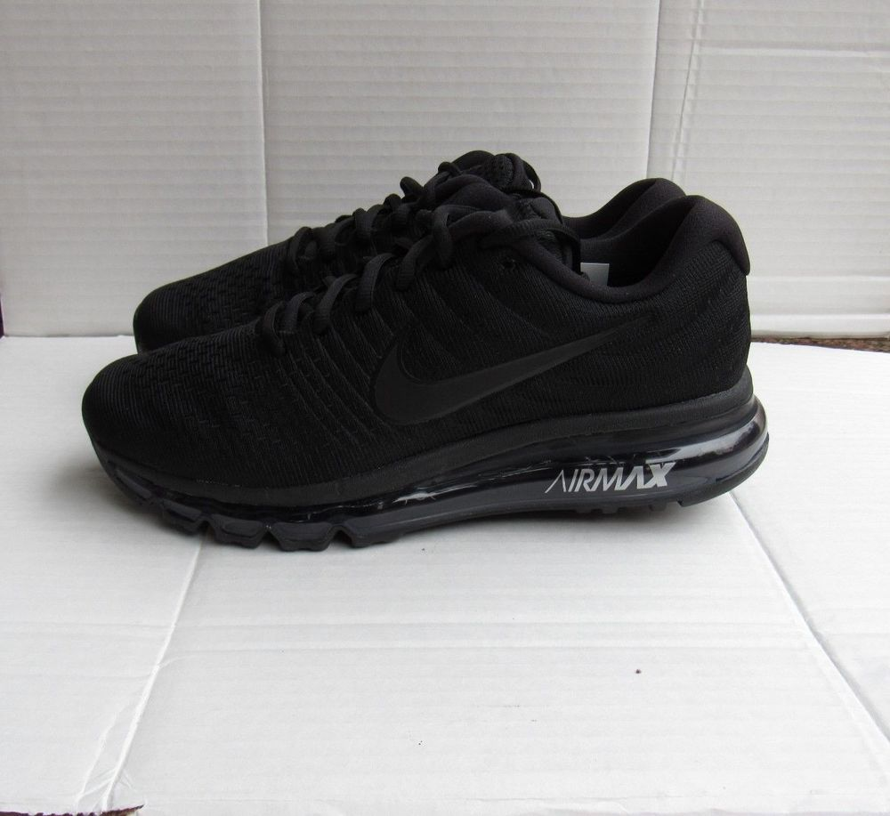 buy online 3bce7 646fb New Men s Nike Air Max 2017 Black Running Shoes (849559-004) Size 6   fashion  clothing  shoes  accessories  mensshoes  athleticshoes (ebay link)