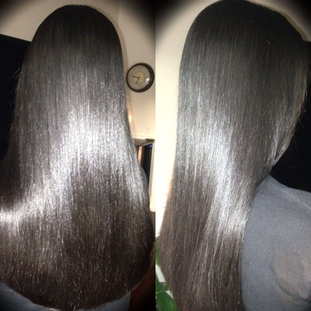 how to get smooth and silky hair naturally