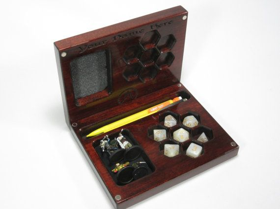 The Player's Vault V2, Accessory Holder, Dice, Dice Box