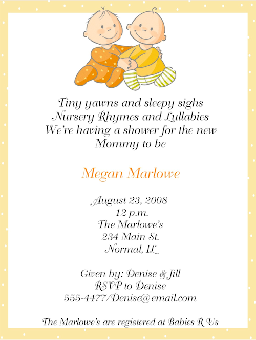 baby boy shower invite wording  projects to try, Baby shower invitation