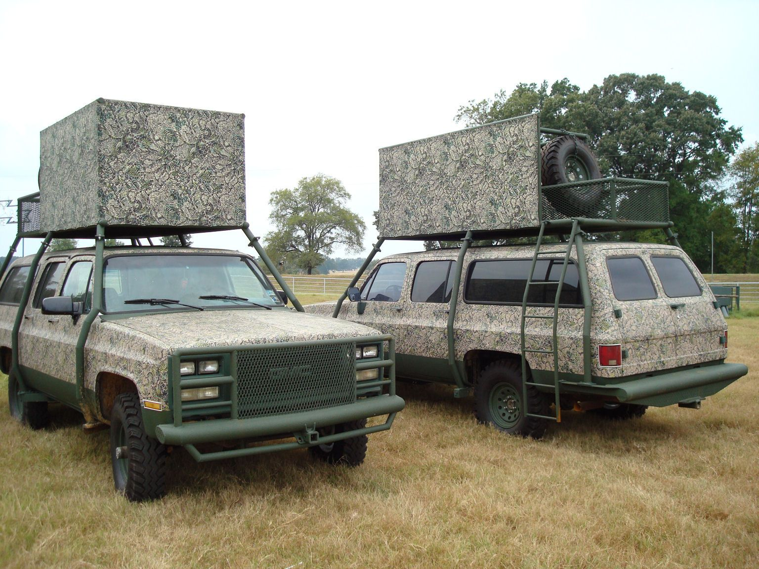 A hunting truck just for hunting