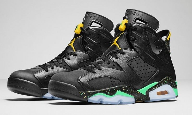 best service b10bd 974cb Nike AIR JORDAN 6 CP3 World Cup Brazil Pack RETRO Size 9 100% Authentic   Nike  AthleticSneakers