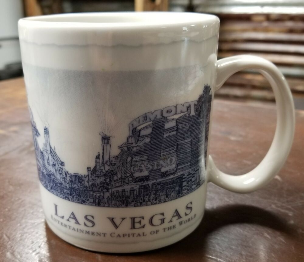 New Cup 2008 City Coffee Series Mug Vegas Starbucks Architect Las EQrodeWxCB