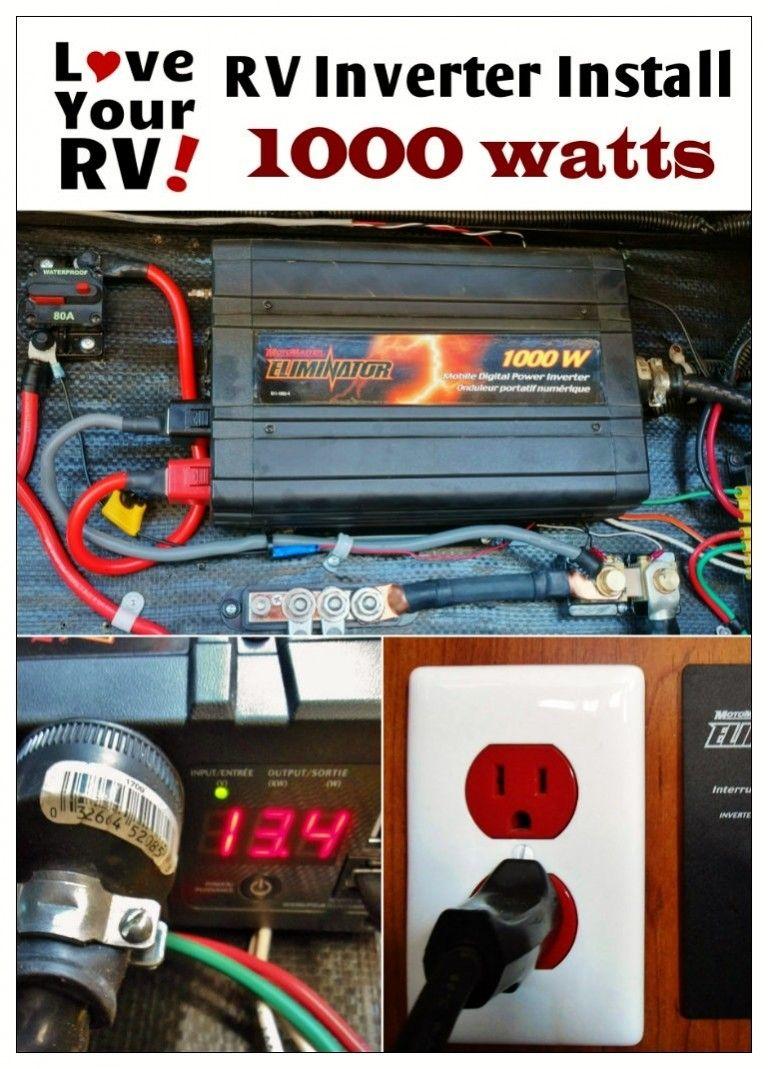 1000W Pure Sine Wave Inverter *Updated* | RV And Camper Hacks ...