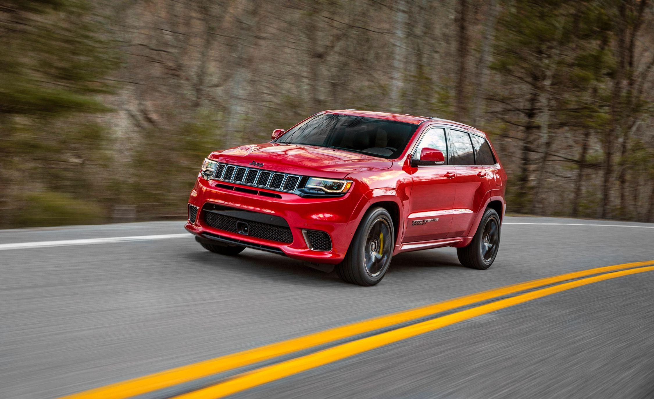 2018 Jeep Grand Cherokee Trackhawk The World S Most Powerful Suv