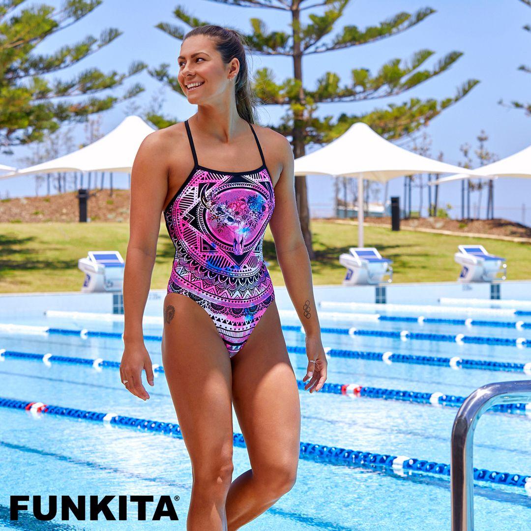 2fd3eca5db530 Swimwear   Ladies   Strapped In One Piece