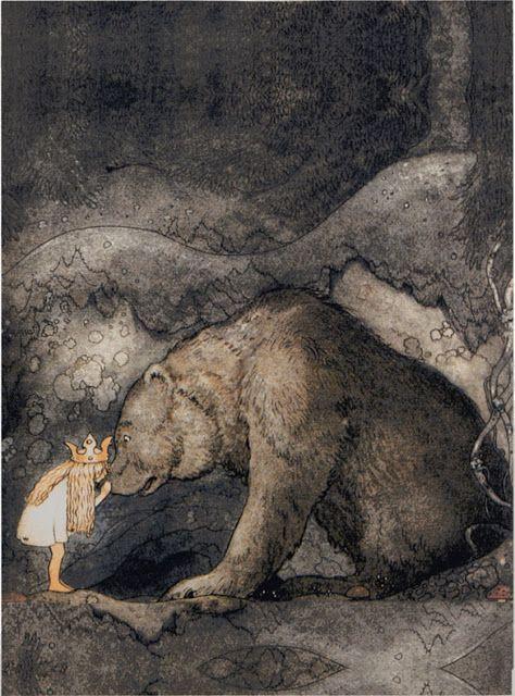 Anjas' Theme Of The Week: Swedish week 3: Beautiful illustrations by John Bauer > 'Bella's Glorious Adventure'