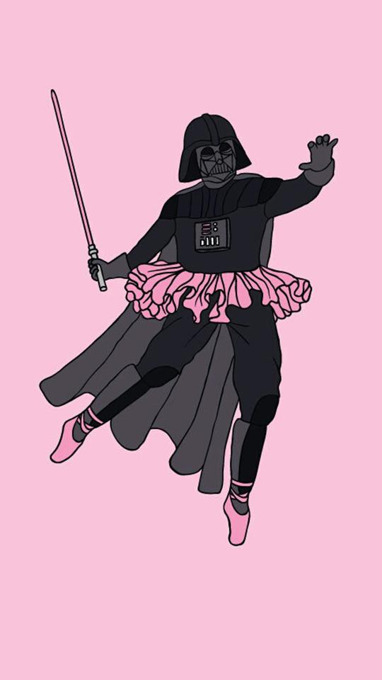 Pink Fondos Papel De Parede Star Wars Wallpapers Bonitos