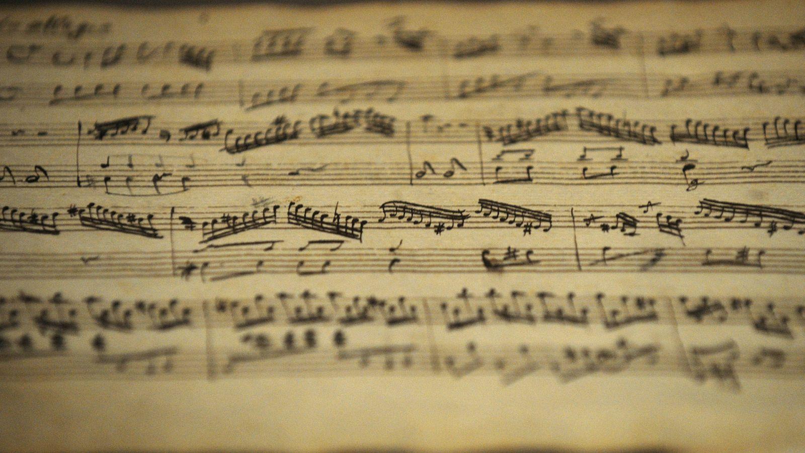 Handwritten Sheet Music 1600x900 Sheet Music Music Musicals