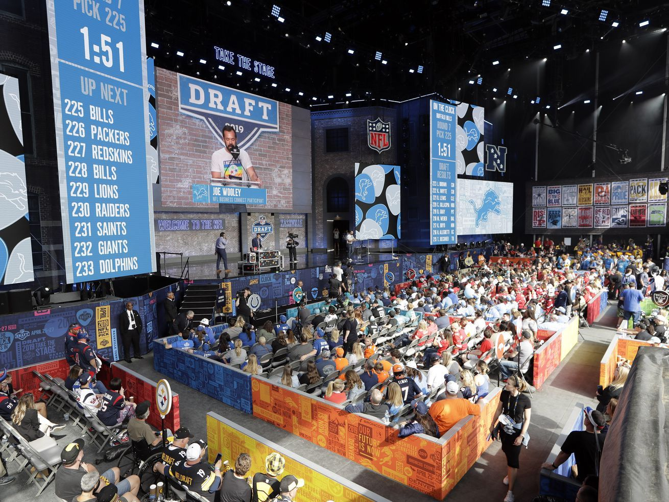 NFL cancels 2020 draft events in Las Vegas, draft