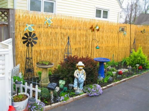 Attrayant Backyard X Scapes 6 Ft. H X 16 Ft. L Reed Fencing