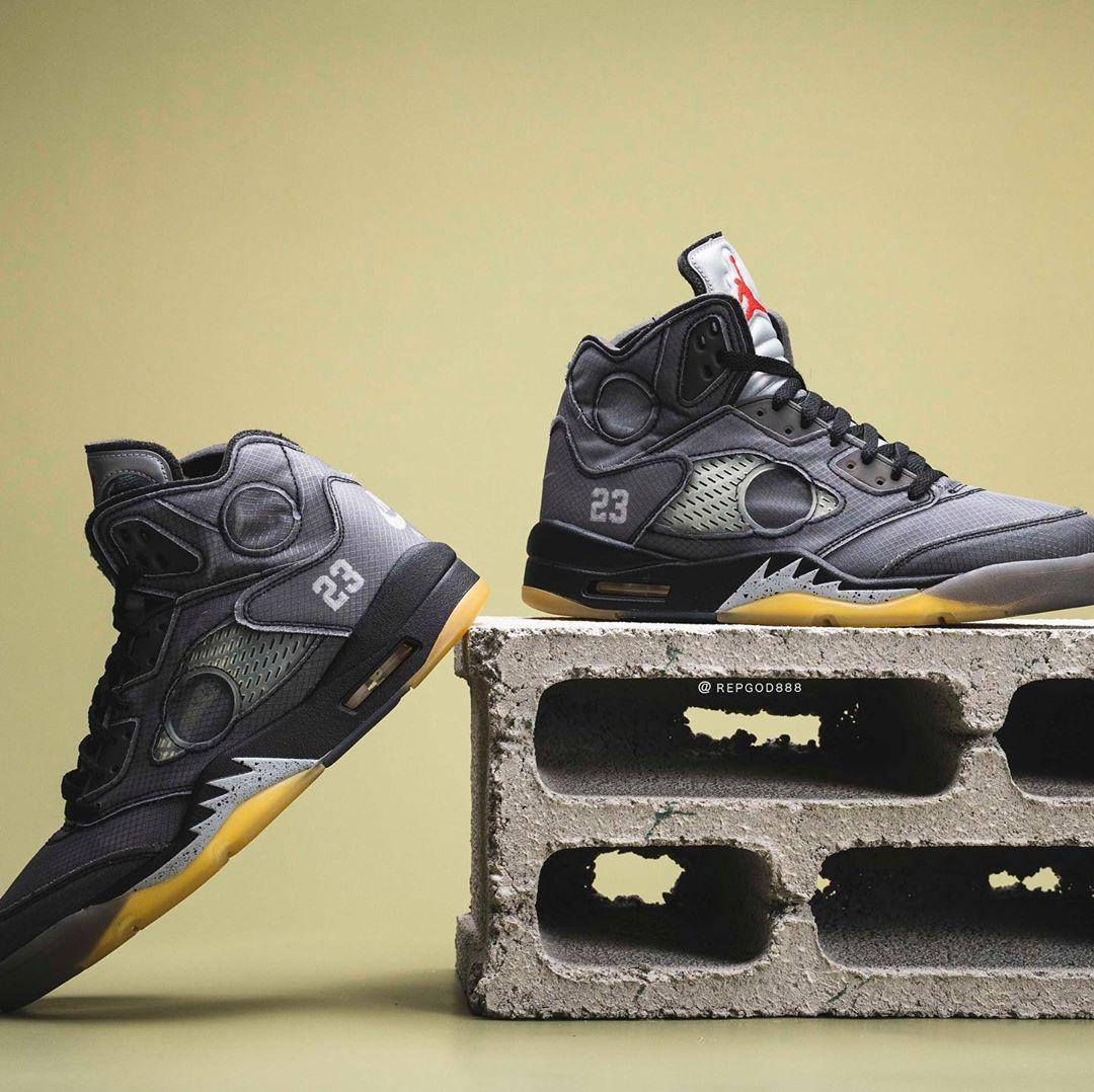 Die besten Bilder vom möglichen Off White x Air Jordan 5