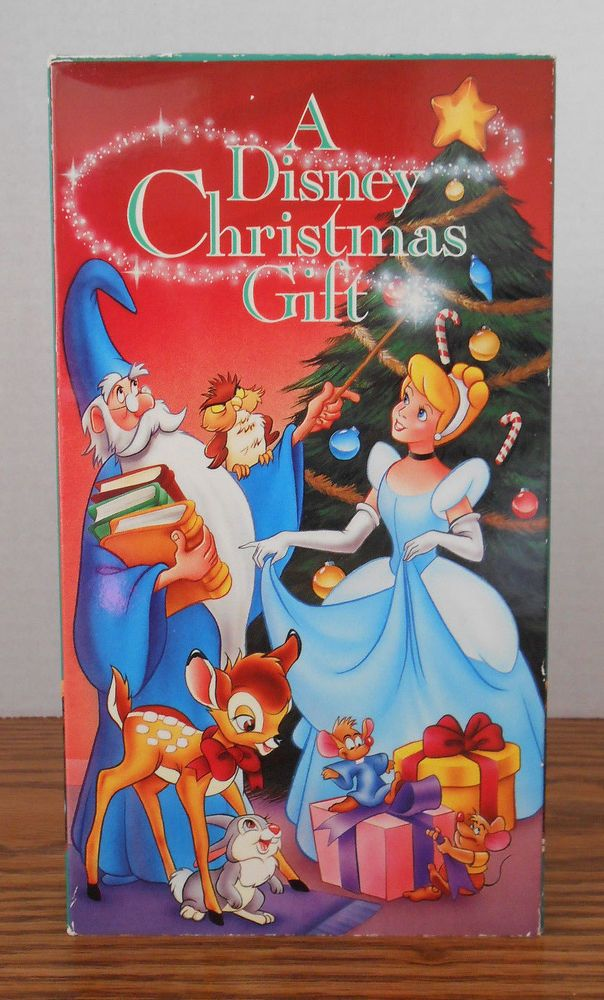 A Disney Christmas Gift Dvd.A Disney Christmas Gift Vhs Ebay Disney Christmas