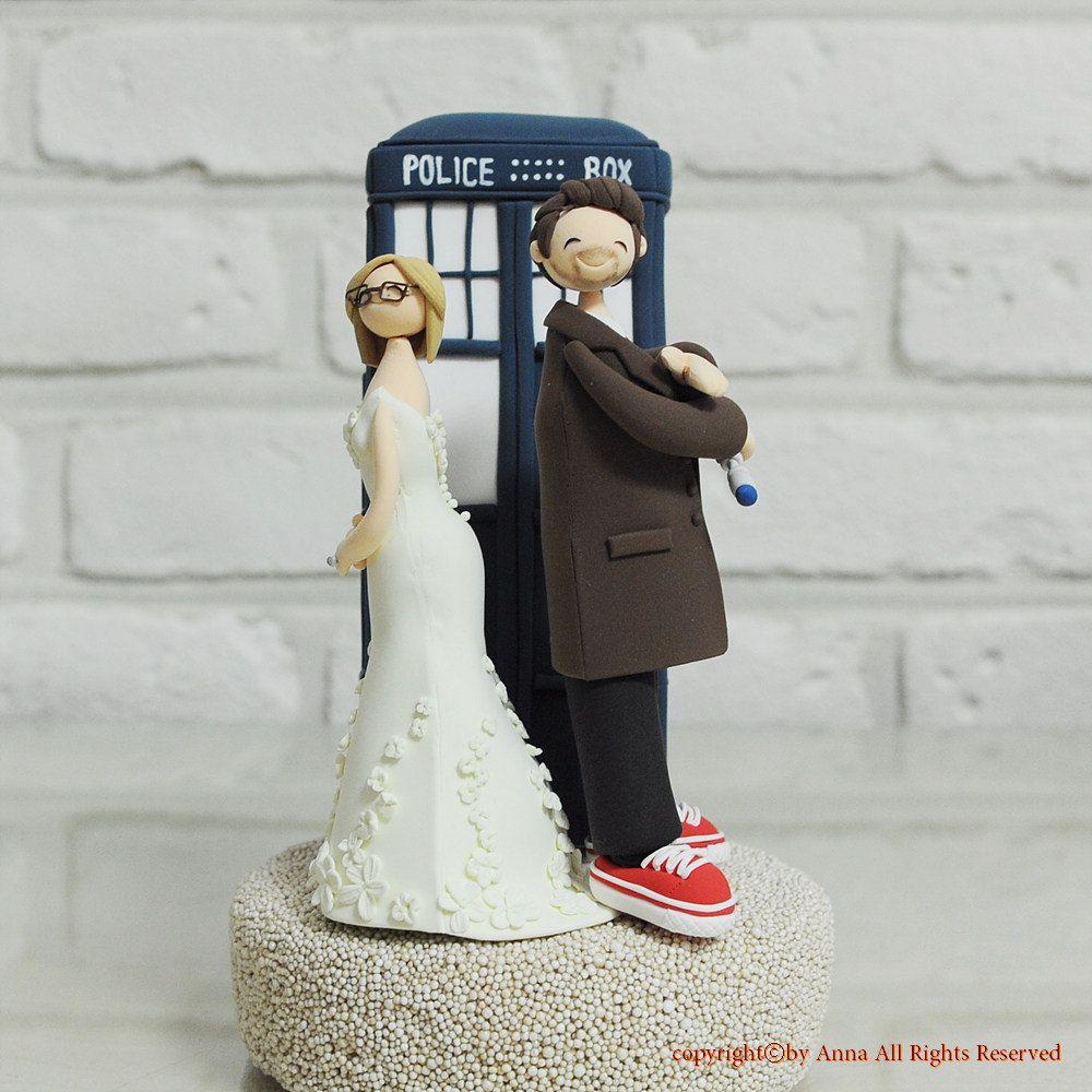 Doctor who wedding cake topper decoration gift keepsake. I could ...