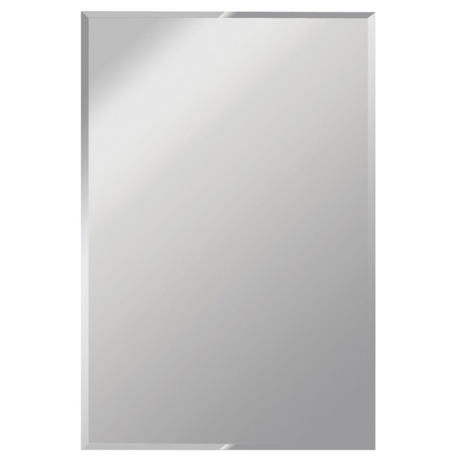 Gardner Gl Products 30 In X 48 Silver Beveled Rectangle Frameless Traditional Wall Mirror At Lowes
