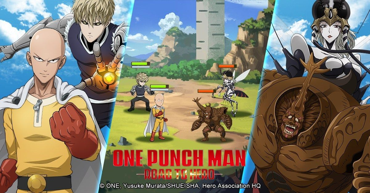 Oasis Games Announces The First Officially Licensed One Punch Man