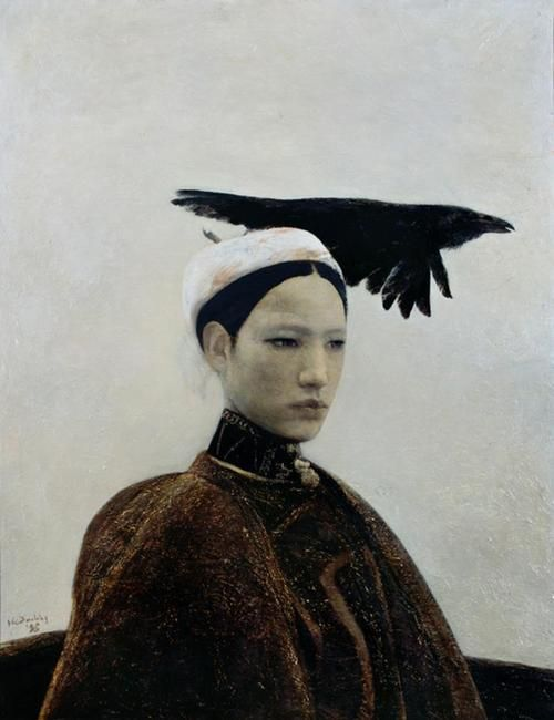 The Crow is Beautiful by He Duoling