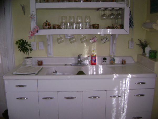 Vintage Kitchen Sink Cabinet vintage kitchen sinks | my kitchen sink mystery solved… maybe