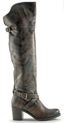 Frye Womens Grey Kelly Boot Boots Over The Knee