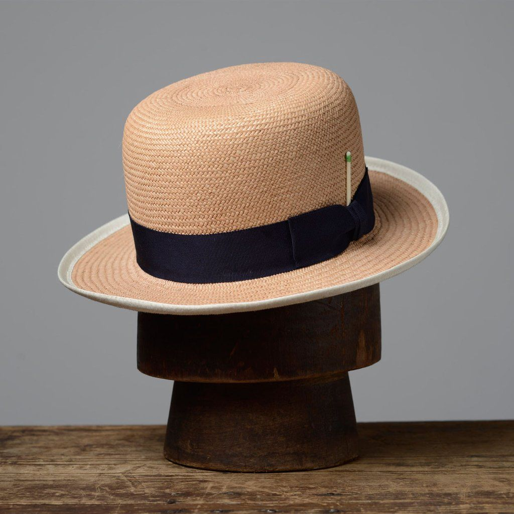da1bdd6283a6ff Mirabelle | Bespoke | Straw fedora, Hats, How to wear