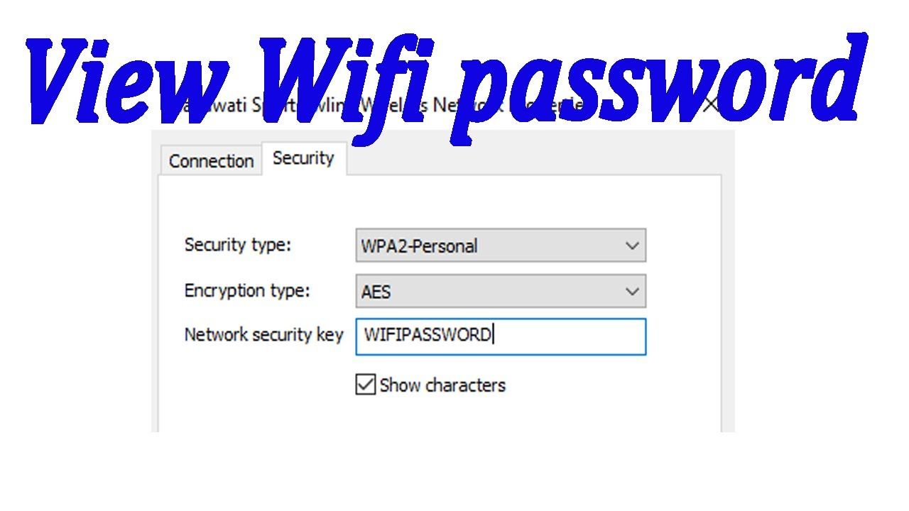 How To View Wifi Password In Laptop Computer In 2020 Wifi Password Network Security Wifi
