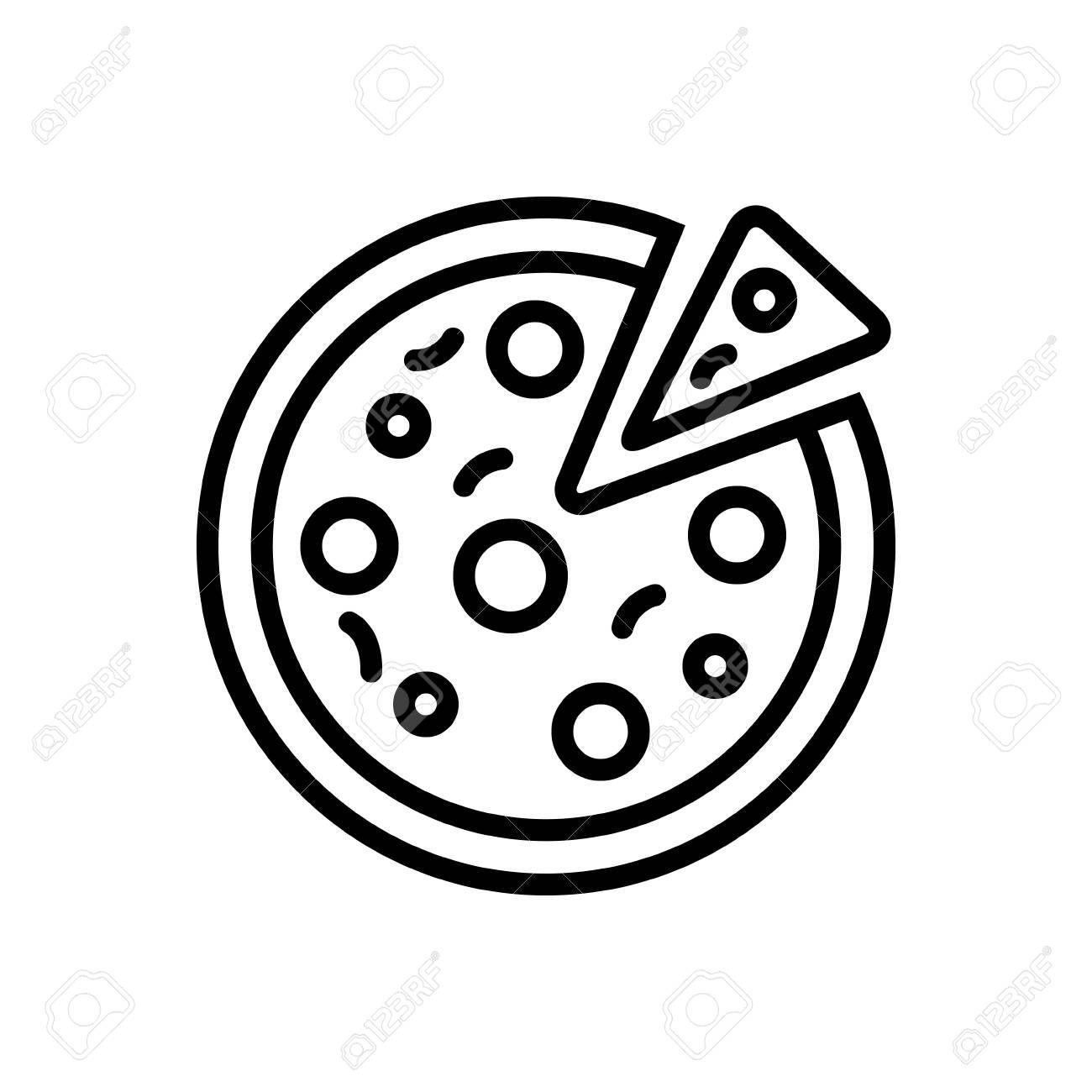 Pizza Icon Illustration Ad Pizza Icon Illustration Pizza Icon Icon Illustration Illustration Design
