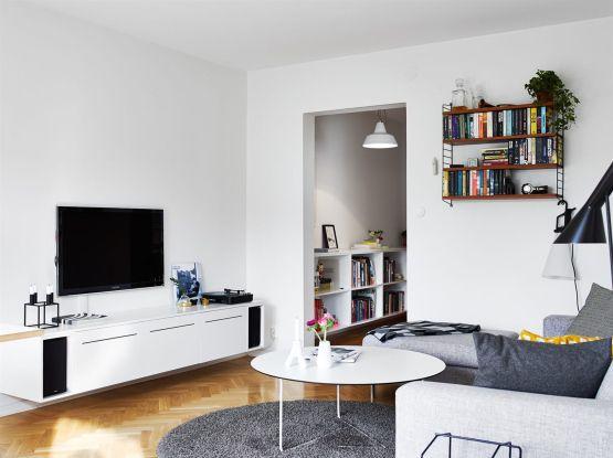 Muebles ligeros para ganar espacio visual Nice and Spaces