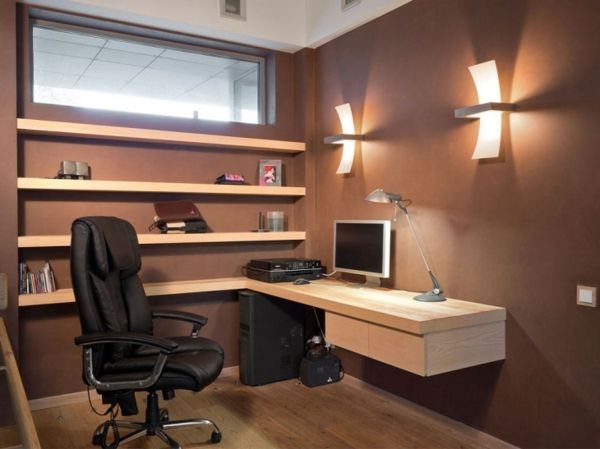 Designs uniques de bureau suspendu bureau pinterest desk space
