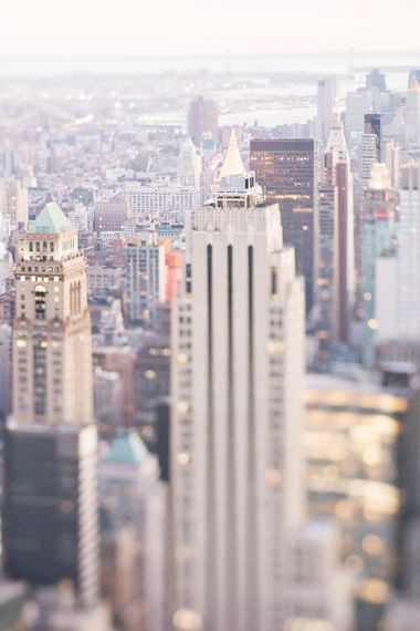 New York Photography - Glimmer, City Skyline at Dusk, Manhattan