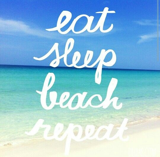 Dream Life Beach Quotes More Than Words Eat Sleep
