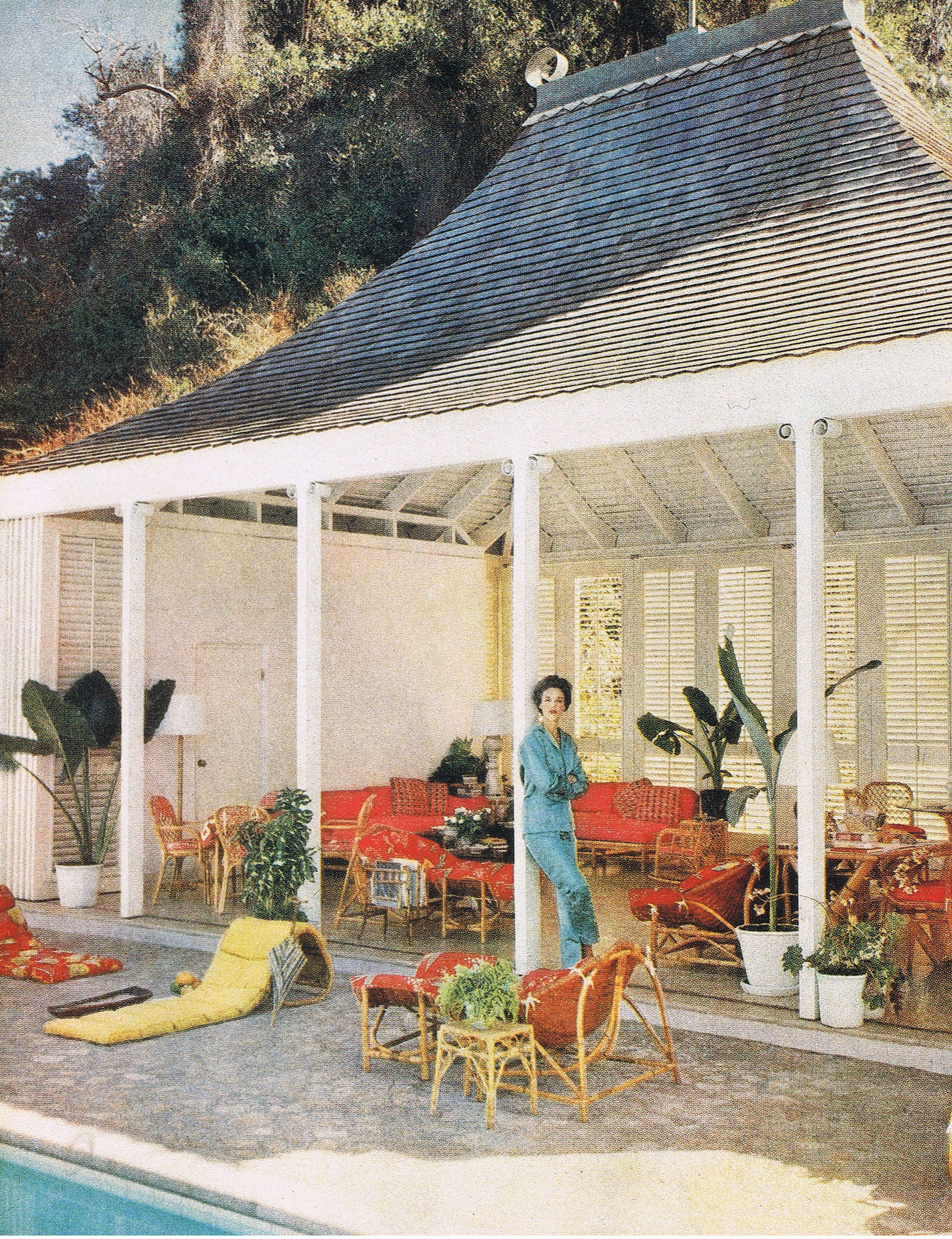 Babe Paley Jamaica 1956 | 50's | Casas bellas, Jardines ...
