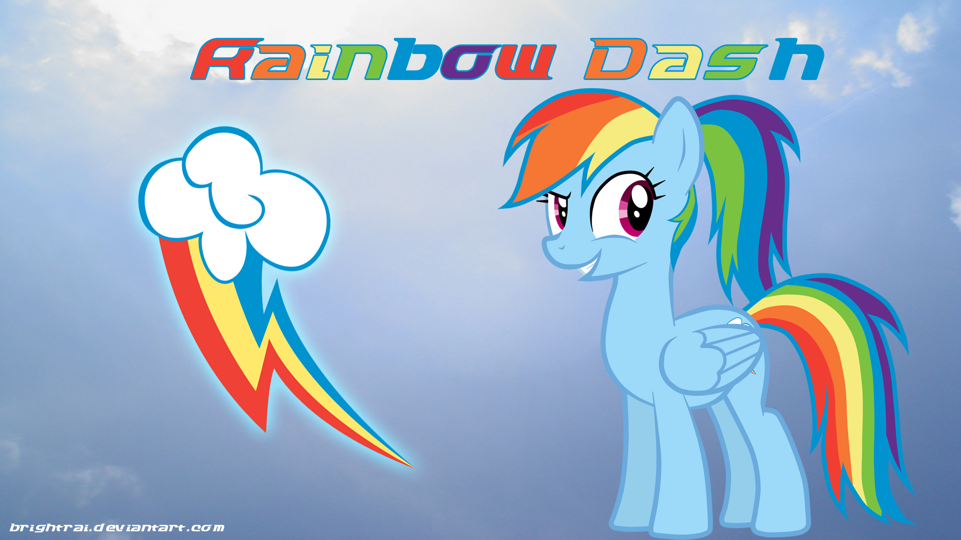 Rainbow Dash Cutie Mark Wallpaper Cartoon Wallpapers With Images