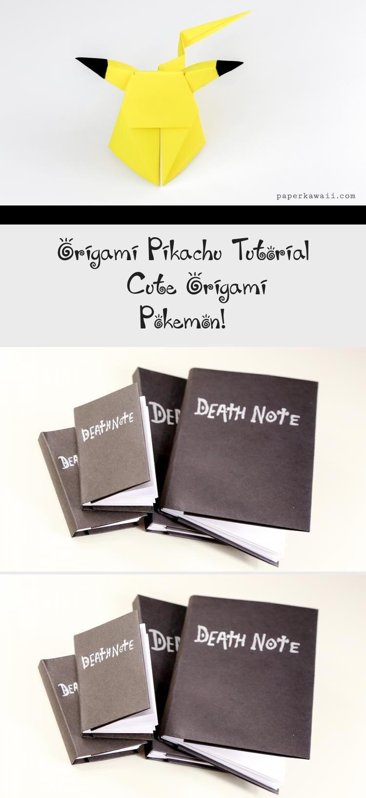 Photo of Origami Pikachu Tutorial – Cute Origami Pokemon! – Paper Kawaii #origamiPapirofl…