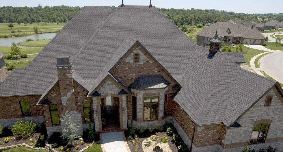 Heritage Premium Laminated Asphalt Shingles Brick Exterior House House Exterior Roof Shingles