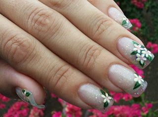 Plumeria Nail Art Google Search