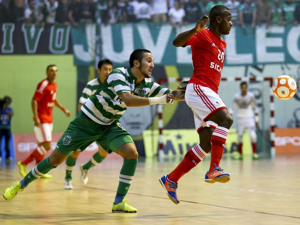 Futsal (2015/2016), campeões nacionais lideram e estão bem encaminhados para o revalidar do título...