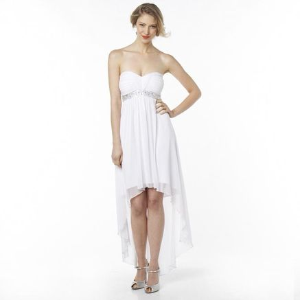 JOLIE Asymmetrical Hem Wedding Dress